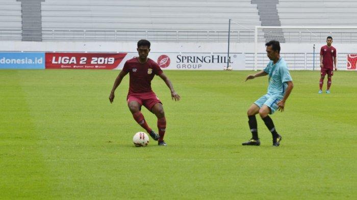 Andre Putra Wibawa Optimistis Raih Hasil Positif Saat Melawan Mitra Kukar di Stadion Rondong Demang