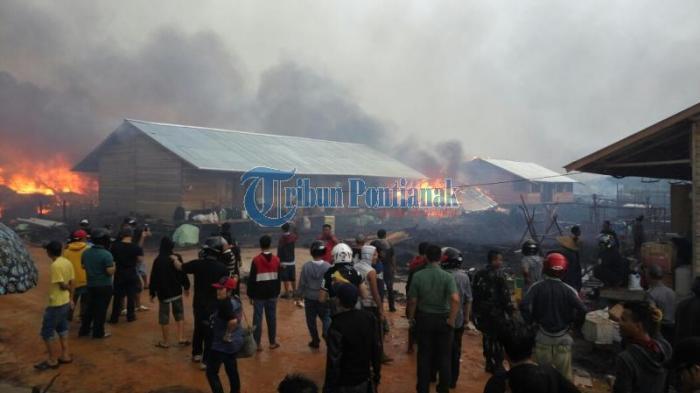 Warga Eks Gafatar Khawatir Anaknya Trauma setelah Permukiman Dibakar
