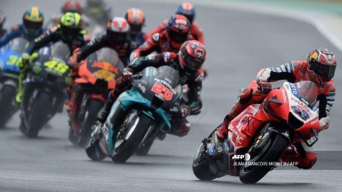 Hasil FP1 dan FP2 MotoGP Italia 2021, Live di TV Online, Rossi Grogi Tampil di Mugello