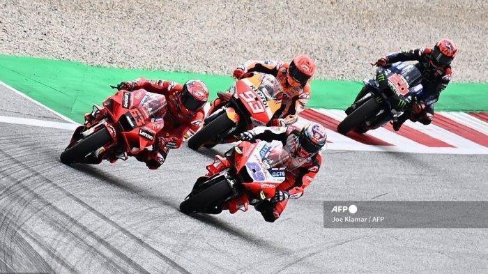 Jadwal FP1 dan FP2 MotoGP Hari Ini, Misi Khusus Bagnaia di Sirkuit Aragon