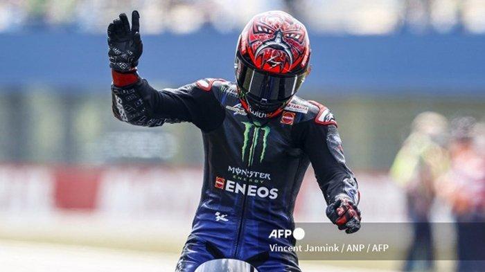 Hasil FP1 & FP2 MotoGP Inggris 2021: Fabio Quartararo Tercepat, Rossi Susah Payah Masuk 10 Besar