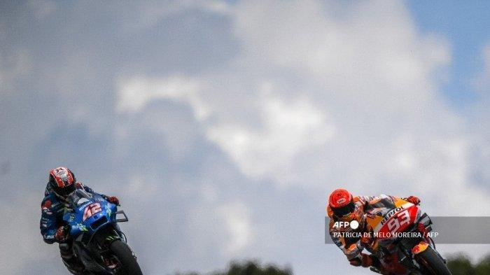Hasil FP2 MotoGP Italia 2021, Murid Rossi Tampil Dominan, Marquez Gagal Tembus 10 Besar