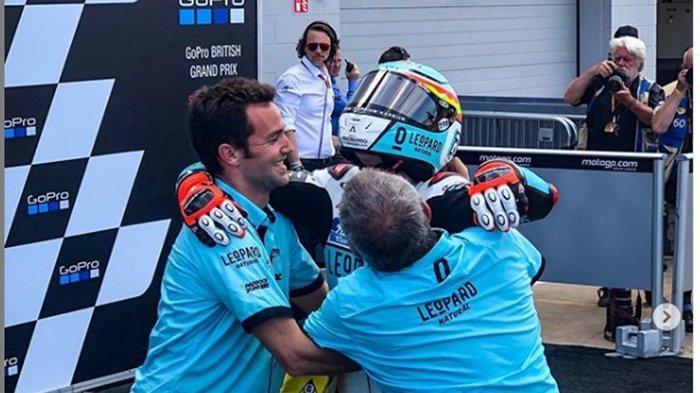 Kesalahan Marc Marquez di Tikungan Terakhir, Bawa Alex Rins Memenangi MotoGP Inggris 2019