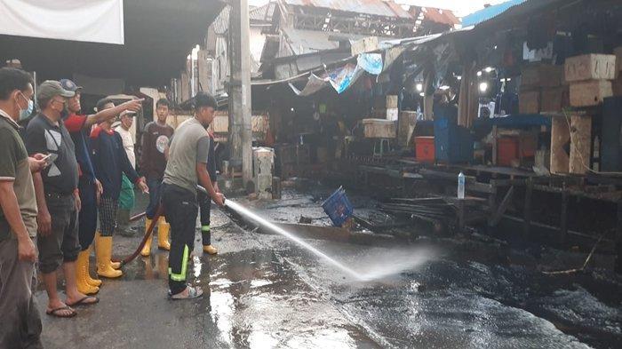 Usai Lebaran, Pembersihan Pasar Tradisonal di Samarinda Kembali Berlanjut