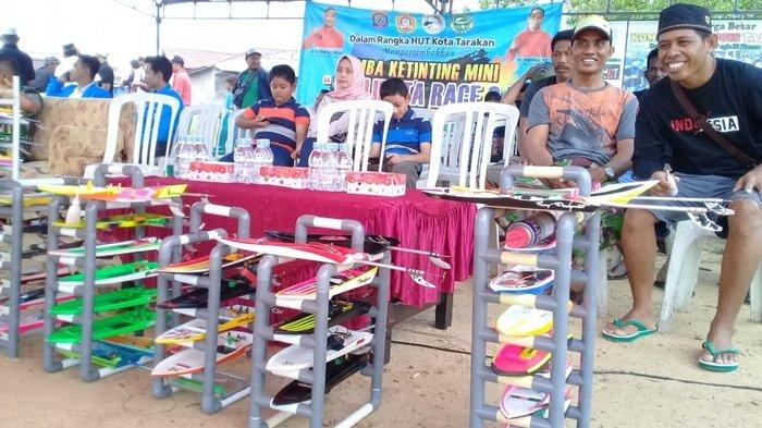 TRIBUN TRAVEL Wisata Tahunan di Kota Tarakan, Serunya Lomba Ketinting Mini Walikota Race