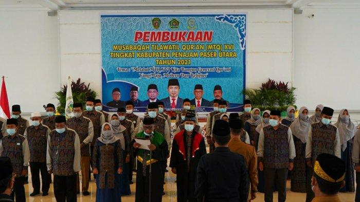 MTQ XIV Resmi Dibuka, Plt Sekda PPU Harap Bisa Dilaksanakan Tiap Tahun