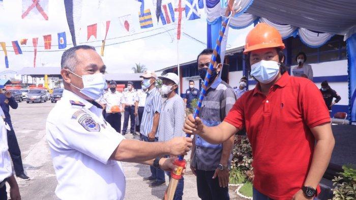 180 Warga di Wilayah UPT Ditjen Hubla Kaltim Ikuti Program Padat Karya