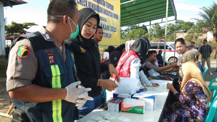 Mudik Natal dan Tahun Baru, Puluhan Sopir Angkutan Umum di Kutai Timur Jalani Tes Urine