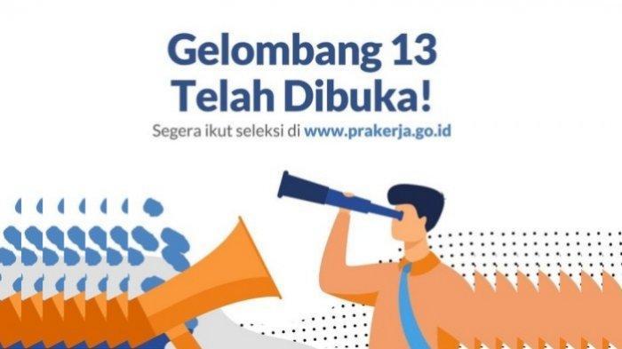 LOGIN www.prakerja.go.id Link Resmi Daftar Kartu Prakerja Gelombang 13, Lihat Cara dan Syaratnya
