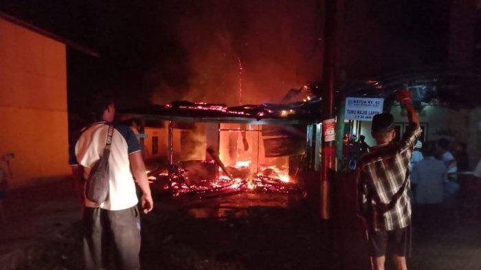 Peristiwa Kebakaran di Pondong Hanguskan 1 Rumah, Diduga karena Arus Pendek Listrik