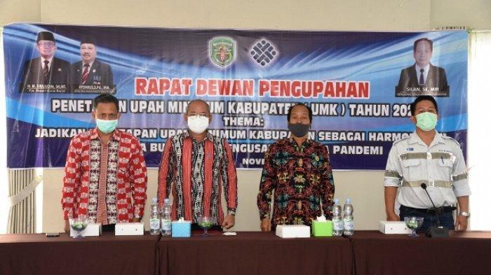 Dipatok Rp 3,3 Juta, Pemkab Kubar Akhirnya Tetapkan Besaran UMK dan UMSK 2021