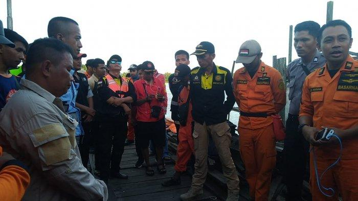 Indra Belum Ditemukan. Hari Kedua Pencarian Anak Hilang Tenggelam di Sungai Mahakam Desa Loa Duri