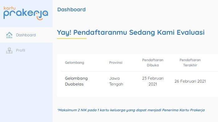 Login www.prakerja.go.id, Cara Cek Lolos Kartu Prakerja Gelombang 12, Jangan Sedih Dulu Bila Gagal