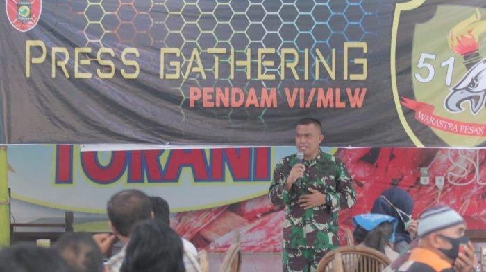 Ajang Perkenalan Diri, Pendam VI Mulawarman Gelar Press Gathering