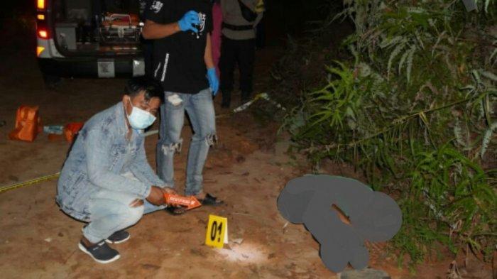 Pria Asal Malang Terbujur Kaku di Pinggir Kebun Kelapa Sawit Desa Labangka Penajam Paser Utara