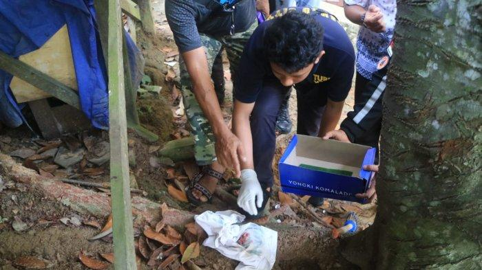 Polisi Pastikan Jasad Bayi yang Dikuburkan Dekat Sebuah Guest House di Samarinda Bukan Korban Aborsi