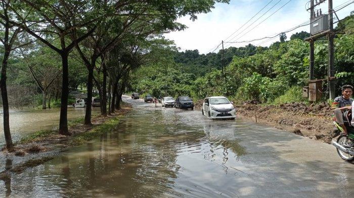 Longsor di Jalan Patimura Samarinda, Warga Keluhkan Akses Jalan ke Pemda, Dishub Alihkan Jalan