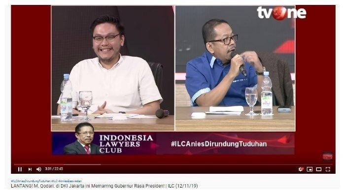 M Qadary di ILC: Wajar Anies Kerap Dituduh, William Dipuji, Sebut PSI Bisa Dikira Sudah Punya Capres