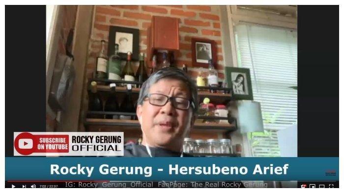 Rocky Gerung Ingatkan Jokowi Bersiap Hadapi Dampak Terburuk Virus Corona, Khawatir Ada Kekerasan