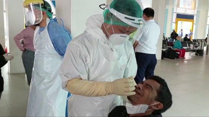 Screening Penumpang Arus Balik di Tarakan, Siapkan 1.000 Stick Rapid Antigen