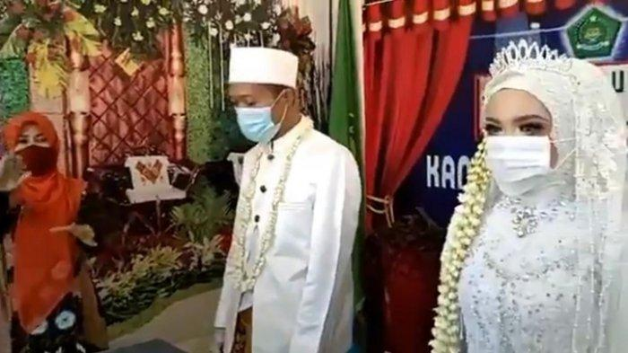Ikuti Imbauan Gubernur Jateng, Pengantin Nyanyikan Indonesia Raya sebelum Akad Nikah Viral di Medsos