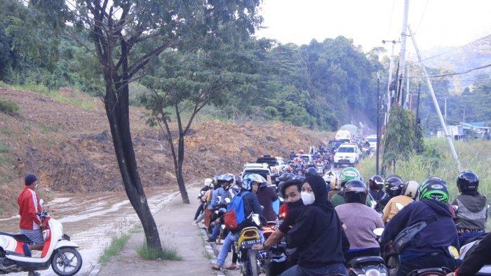Longsor Lagi di Jalan Pattimura Samarinda, Walikota Andi Harun Inginkan Pemprov Segera Memperbaiki