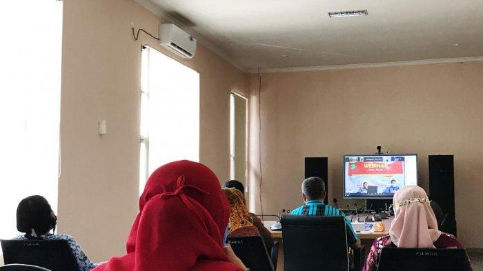 Memperkuat Pendidikan Wawasan Kebangsaan via Webinar untuk Pelajar Kutai Timur
