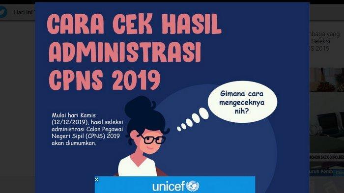 Hasil Seleksi Administrasi CPNS 2019 Tak Kunjung Diumumkan? BKN Persilakan Instansi Perpanjang Waktu
