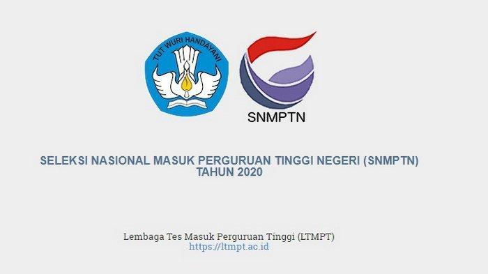 Pengumuman SNMPTN 2020: Jumlah Peserta Lulus Ternyata Sangat Kecil,Ini Pesan LTMPT untuk yang Gagal
