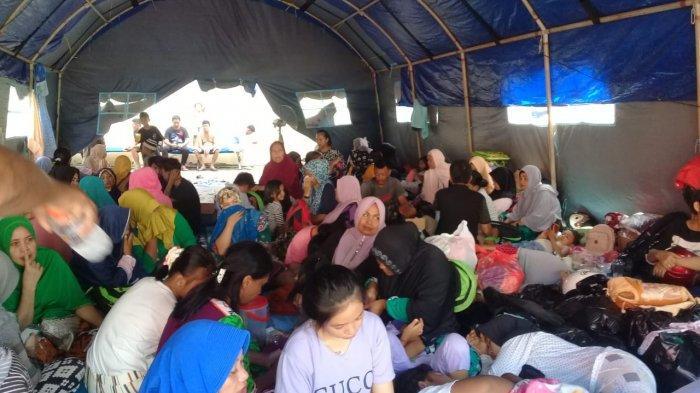 Update Jumlah Korban Terdampak Kebakaran Pasar Lingkas Batu Tarakan Capai 466 Jiwa