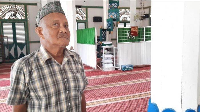 Pengurus Masjid Jami Nurul Ibadah terkait perawatan dan struktur bangunan, Minggu (2/5/2021). TRIBUNKALTIM.CO/SYAIFULLAH IBRAHIM