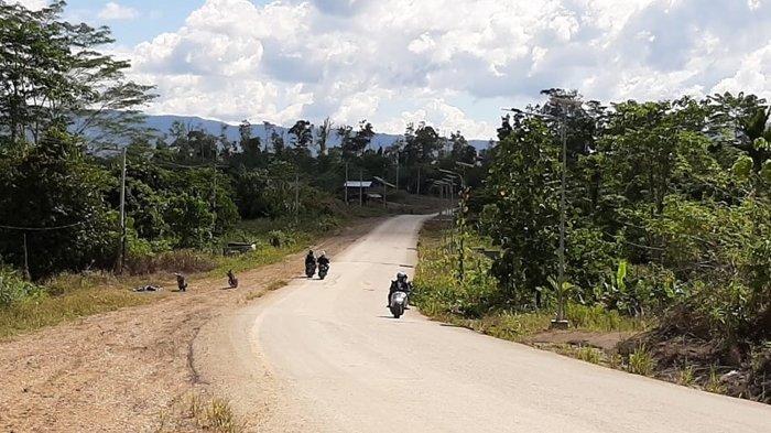 Jalan Ujoh Bilang-Long Melaham Bakal Menjadi Dua Jalur, Pelebaran Akan Dilakukan pada 2022