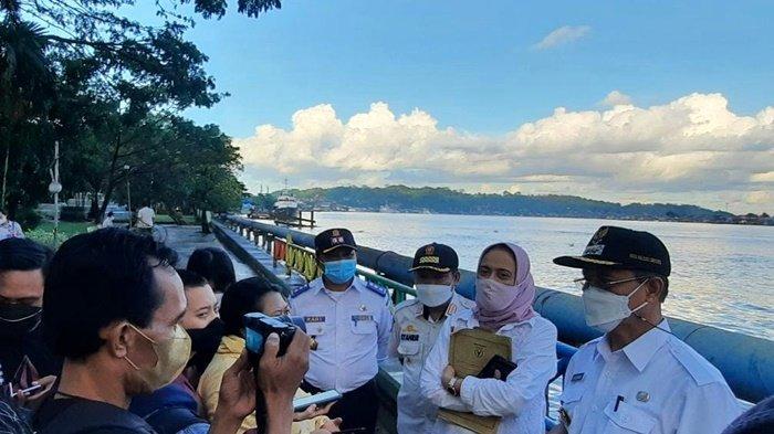 Segera Dibuka, Wawali Samarinda Rusmadi Wongso Tinjau Kembali Tepian Mahakam Buat PKL