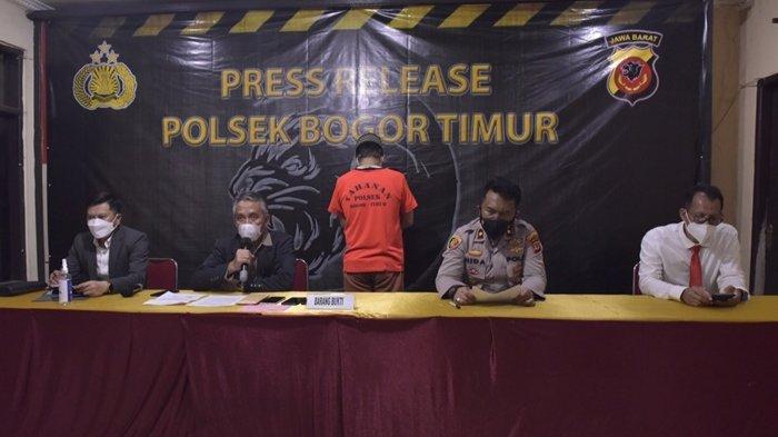 Polsek Bogor Timur Rilis Pelaku Penipuan yang Mengatasnamakan Wamen BUMN dan Dirut Pegadaian