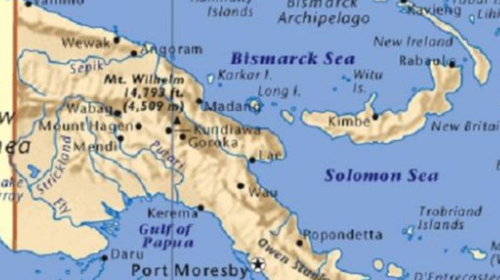 Dalam 9 Bulan Terakhir terjadi 3 Gempa di Papua Nugini, Ratusan Orang telah Meninggal Dunia