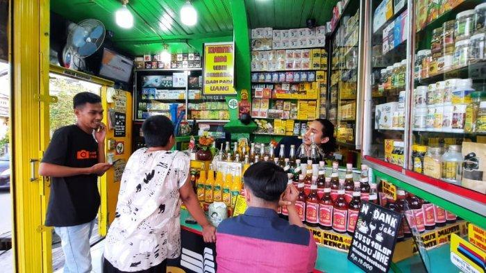 Penjualan Turun 50 Persen Kala Pandemi, Penjual Jamu di Samarinda Andalkan Ramuan Penambah Stamina