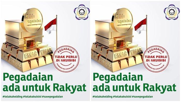 SP Pegadaian Kalimantan Dukung Penolakan Holding untuk Pembiayaan Ultra Mikro
