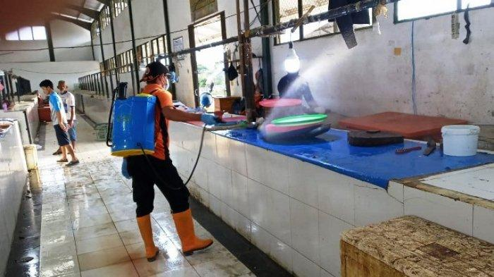 Cegah Corona, BPBD Kaltara Lakukan Penyemprotan Disinfektan di Perkantoran hingga Fasilitas Umum