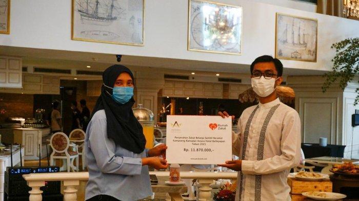 Rayakan Hari Jadi Ke-10, Grand Jatra Hotel Balikpapan Serahkan Bantuan ke Panti Asuhan