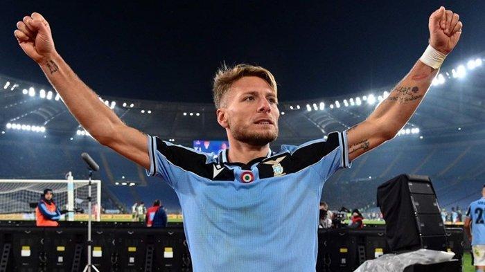 Waspada Juventus dan Inter Milan, Ciro Immobile Bawa Lazio Ukir Rekor, Siap Berburu Scudetto