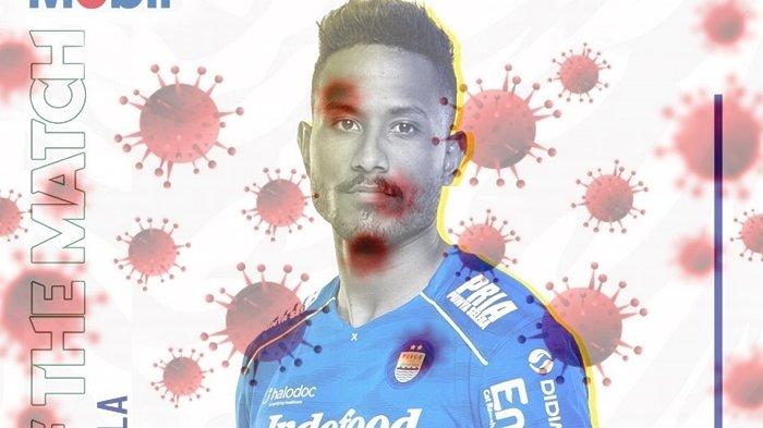 Jejak Striker Persib Wander Luiz Sebelum Dinyatakan Positif Corona, Tes Pertama Hasilnya Negatif