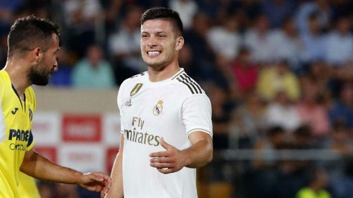 Striker Serbia Luka Jovic Mandul, Real Madrid Dikudeta Barcelona dari Puncak Klasemen Liga Spanyol