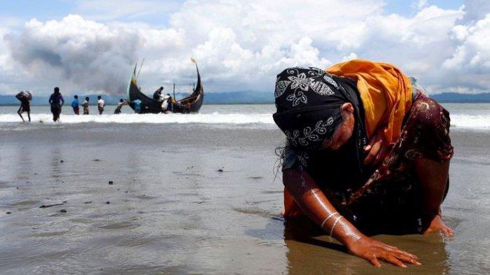 Perahu Pengungsi Rohingya Terbalik, 10 Anak dan 4 Perempuan Tewas Tenggelam