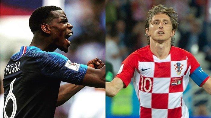 Final Piala Dunia, Kesempatan Kroasia Balas Dendam setelah 20 Tahun Dikalahkan Prancis
