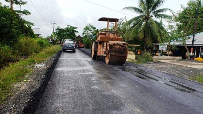 Pemprov Gelontorkan Rp 1,43 Miliar untuk Perbaikan Jalan Selimau 1 hingga 3 Tanjung Selor