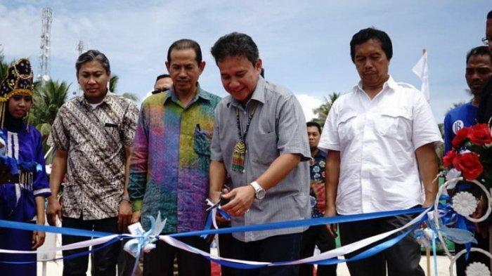 Bank Indonesia Resmikan Bagan Apung di Derawan, Tingkatkan Sektor Perikanan dan Pariwisata