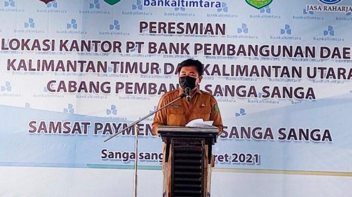 KCP Bank Kaltimtara dan Samsat Payment Point di Sanga-Sanga Beroperasi, Diharap Bisa Mudahkan Warga
