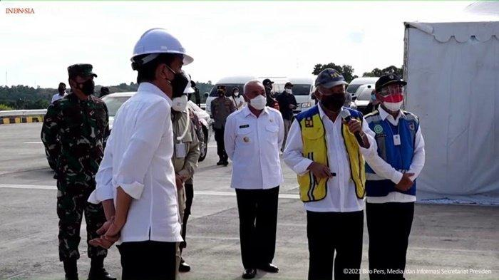 Diresmikan Presiden Jokowi, Tol Samboja-Balikpapan Gratis 2 Pekan
