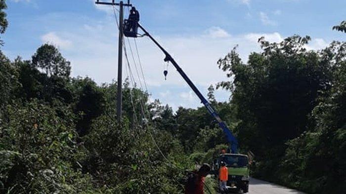 PLN Prioritaskan Tower dan Perluasan Jaringan Listrik, Targetkan di Mook Manaar Bulatn Kutai Barat