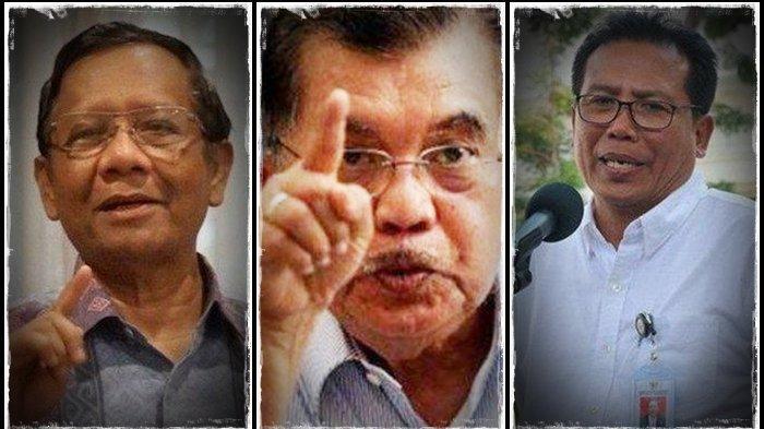 Jokowi dan Kritik: Pernyataan Elegan Mahfud MD, Tangkis Sindiran Jusuf Kalla, Respon Istana Normatif